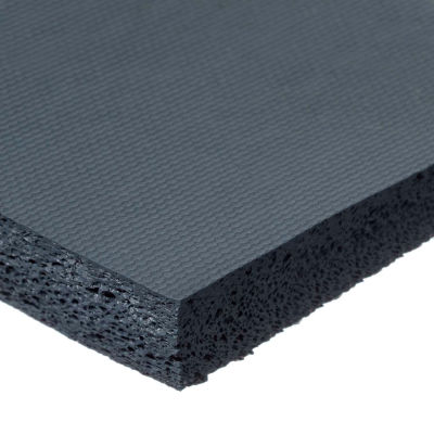 """Fire Retardant Silicone Foam With High Temp Adhesive - 1/16"""" Thick x 1/2""""W x 10'L"""