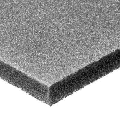 "Cross-Linked Polyethylene Foam Sheet with Acrylic Adhesive - 3/4"" Thick x 24"" Wide x 24"" Long"