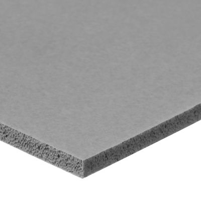 """FDA Silicone Foam Sheet with High Temp Adhesive - 1/16"""" Thick x 12"""" Wide x 12"""" Long"""