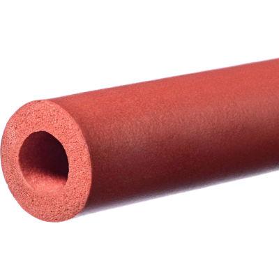 "Silicone Foam Tube - 1/2"" ID x 1"" OD x 5""L"
