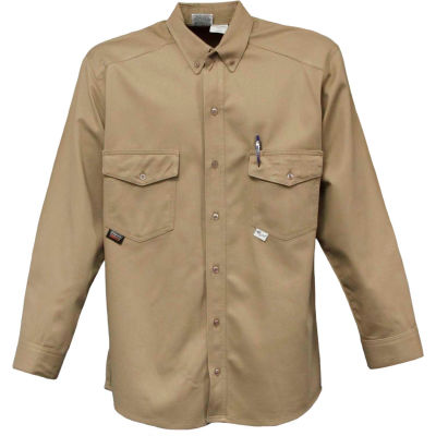 Stanco Cotton/Nylon Flame Resistant Deluxe Shirt, US7412TN-L