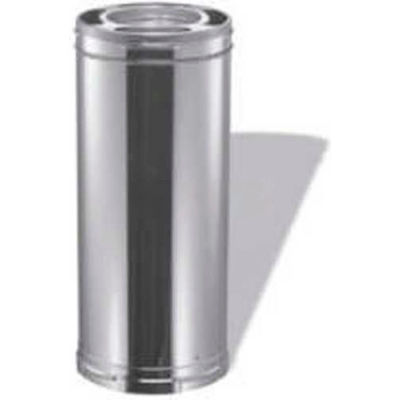 """Duravent Class A Triple Wall Chimney Pipe 9017SS 6""""D X 36""""H Stainless Steel"""