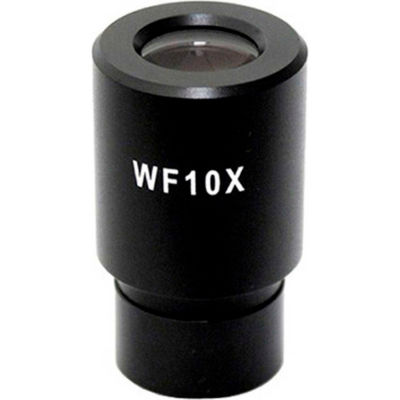AmScope EP10x23R WF10X Microscope Eyepiece with Reticle (23mm), 1 Each
