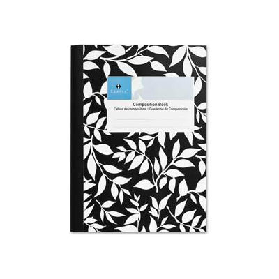 """Sparco™ Composition Notebook, 7-1/2"""" x 10"""", College Ruled, Black Marble, 80 Sheets/Pad"""