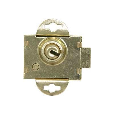 Ultra Hardware Mailbox Lock Mixed Keys - Brass - Pkg Qty 12