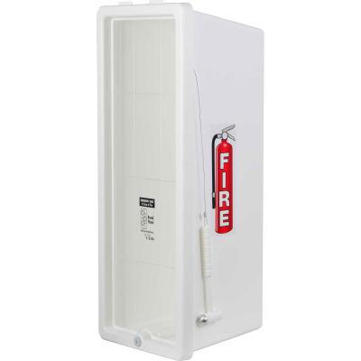 Cato 12001H Chief 20Lb Extinguisher Cabinet, Plastic, White