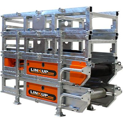 "LINKUP Portable Modular Dirt & Aggregate Conveyor, 400 Series, 24'L x 16""W"