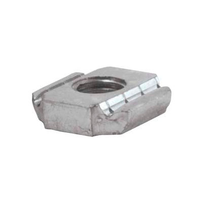 "Unistrut 1-5/8"" Channel Nut P1012egs, Electro-Galvanized, 5/8-11 - Pkg Qty 100"