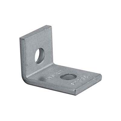 """Unistrut 1-5/8"""" 90° Fitting P1068eg, 2 Hole, Electro-Galvanized - Pkg Qty 50"""