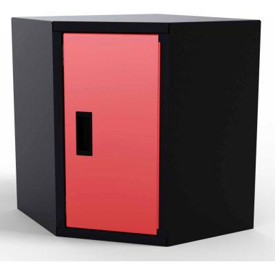 Valleycraft® Collectors Edition Garage Corner Wall Cabinet - 1 Door (R), with 1 Adj Shelf