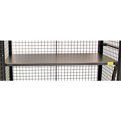 """48"""" x 24"""" Metal Shelf F89718A4 for Valley Craft® Security Truck, Gray"""