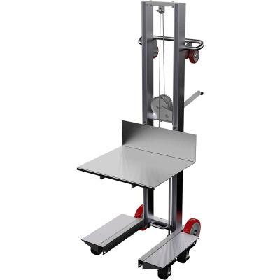 Aluminum Lite Load Lift ALLW-2420-4SFL - Winch Operation