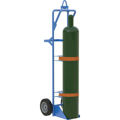 Single Cylinder Hand Truck with Overhead Lift - 150 Lb. Capacity