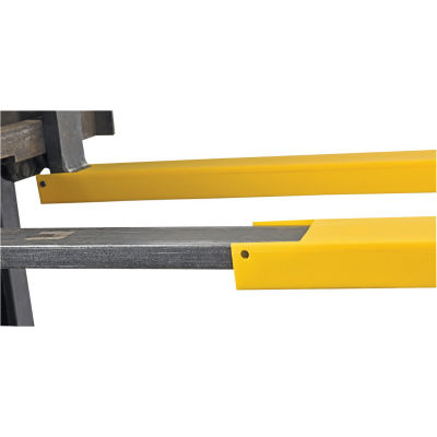 "Fork Blade Protectors for 42"" Forks Polyethylene - Yellow"