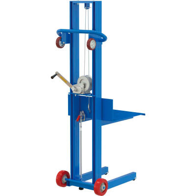 Steel Construction Lite Load Lift LLW-202058-FWFL - Winch Operation with Floor Locks
