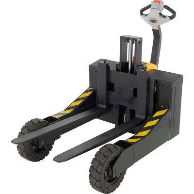 """Rough Terrain Electric Powered Pallet Jack Truck RT-EPT-3-24 24"""" Usable Width - 3000 Lb. Capacity"""