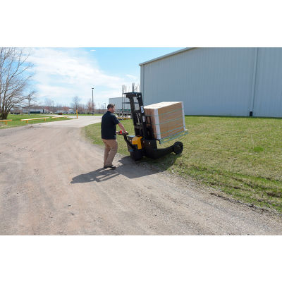"""Fully Powered Rough Terrain Stacker RT-S-62-AF 62"""" Lift - 3000 Lb. Capacity"""