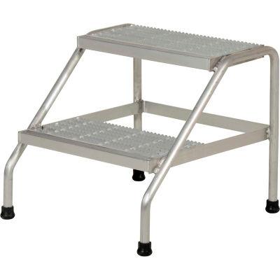 Aluminum Step Stand - 2 Step - SSA-2-KD