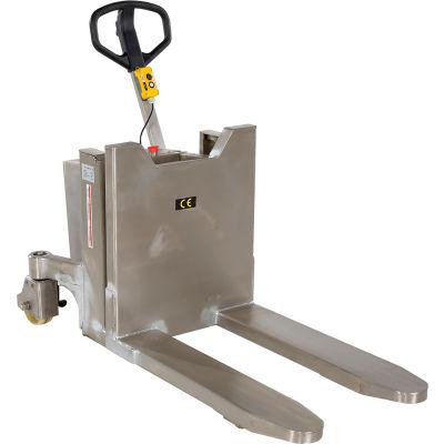 Tilt Master Stainless Steel 12V DC Skid & Container Tilter, 2200 Lb. Capacity