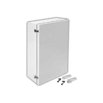 """Vynckier AN1612PLFPHA ARIA 16"""" X 12"""" Non-Metallic Enclosure/Padlockable Latches/AFPH1612A Installed"""