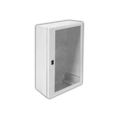 "Vynckier ANB1208 ARIA 12"" X 8"" Non-Metallic Enclosure, Bonded Window, 1/4 Turn Handle Opening"