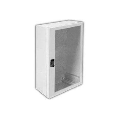 "Vynckier ANB1208HNA ARIA 12"" X 8"" Non-Metallic Enclosure, Bonded Window, A-Hen Installed"