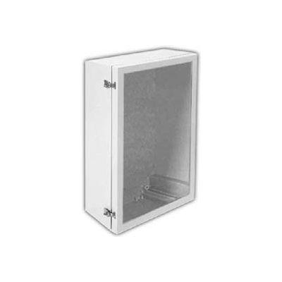 "Vynckier ANB2016PL ARIA 20"" X 16"" Non-Metallic Enclosure, Bonded Window, Padlockable Latches"