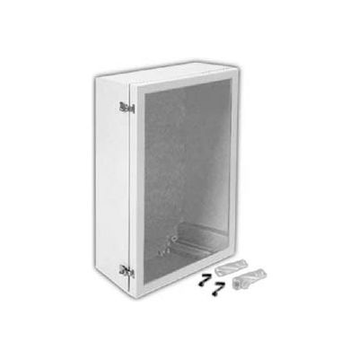 "ANB2016PLFPHA ARIA 20"" X 16"" Non-Metallic Enclosure/Bonded Window/Padlockable Latch Enclosures"