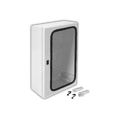 "Vynckier ANG1208FPHA ARIA 12"" X 8"" Non-Metallic Enclosure, Gasket Window, 1/4 Turn Handle Enclosures"