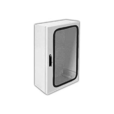 "Vynckier ANG1208HPLA ARIA 12"" X 8"" Non-Metallic Enclosure, Gasket Window, A-Hampel Installed"