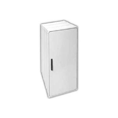 """Vynckier PS4020E2A POLYSAFE 40"""" X 20"""" Non-Metallic Enclosure, 2 Extension, 1 Standard Door"""