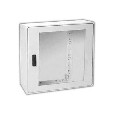 "Vynckier PSB4040A POLYSAFE 40"" X 40"" Non-Metallic Enclosure, 1 Bonded Window Door"