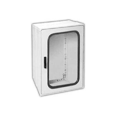 "Vynckier PSG3020E1A POLYSAFE 30"" X 20"" Non-Metallic Enclosure, 1 Extension, 1 Gasket Window Door"