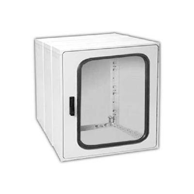 "Vynckier PSG3030E2A POLYSAFE 30"" X 30"" Non-Metallic Enclosure, 2 Extension, 1 Gasket Window Door"