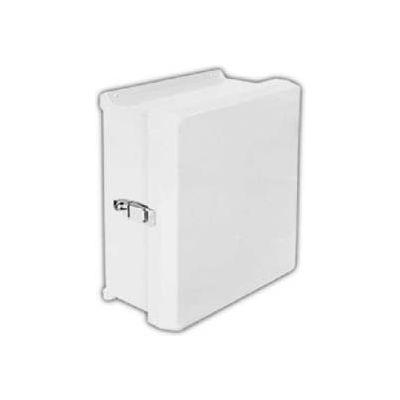 "Vynckier Vj1008hwpl1 Vj 10"" X 8"" Non-Metallic Enclosure, Hinge, 1 Padlockable Latch - Min Qty 2"