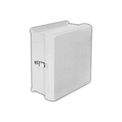 "Vynckier Vj806hwpl1 Vj 8"" X 6"" Non-Metallic Enclosure, Hinge, 1 Padlockable Latch - Min Qty 2"