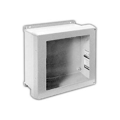 "Vynckier VJB606HW VJB 6"" X 6"" Non-Metallic Enclosure, Bonded Window, Hinge, 2 Corner Screws"