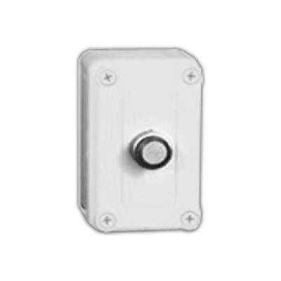 """Vynckier Vm433-Pbm1 Vm 4"""" X 3"""" X 3"""" Non-Metallic Enclosure, 1 22.5mm Push Button Hole - Min Qty 3"""