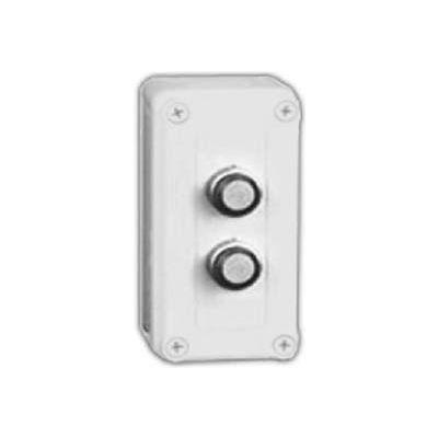 """Vynckier Vm533-Pbm2 Vm 5"""" X 3"""" X 3"""" Non-Metallic Enclosure, Two 22.5mm Push Button Holes - Min Qty 3"""