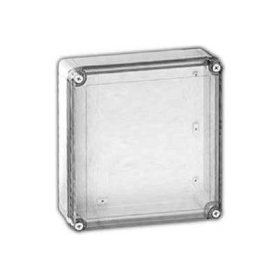 "Vynckier Vm776ct Vm 7"" X 7"" X 6"" Non-Metallic Enclosure, Transparent Cover - Min Qty 2"