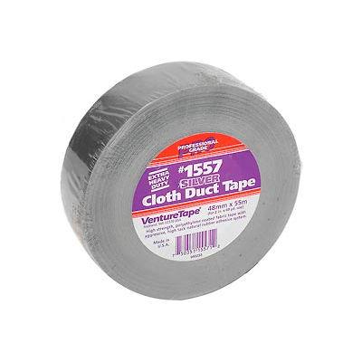 3M™ VentureTape Premium Cloth Duct Tape, 2 IN x 60 Yards, Silver, 1557