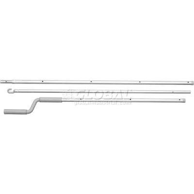 VELUX 6'-10' Rod For Manual Vent Skylight ZCT300, Plastic, White