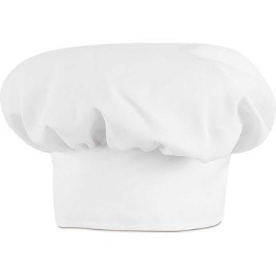 Chef Designs Chef Hat, White, Polyester/Cotton, L