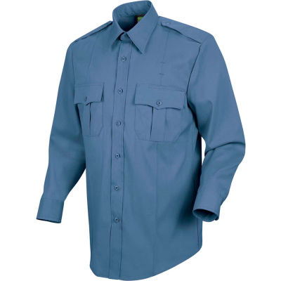 Horace Small™ Deputy Deluxe Men's Long Sleeve Shirt French Blue 15 x 34 - HS11