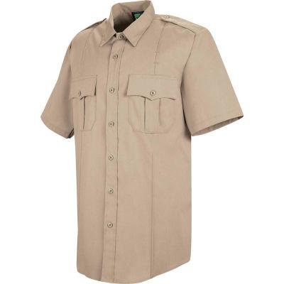 Horace Small™ Deputy Deluxe Men's Short Sleeve Shirt Silver Tan 15.5 - HS12