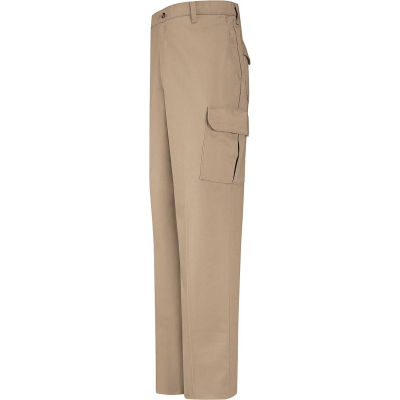 Red Kap® Men's Cotton Cargo Work Pant Khaki 36 X 30 - PC76