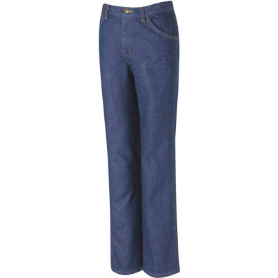 Red Kap® Men's Classic Work Jean Prewashed Indigo 33X32 - PD54