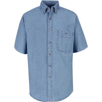 Red Kap® Men's Wrangler Denim Shirt XL SD20-SD20MSSSXL