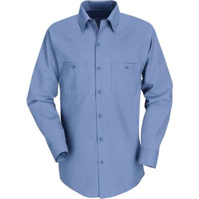 Red Kap® Men's Industrial Work Shirt Long Sleeve Petrol Blue Regular-4XL SP14
