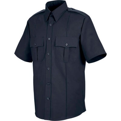 Horace Small™ Sentinel® Unisex Upgraded Security Short Sleeve Shirt Dark Navy SSLXL - SP46